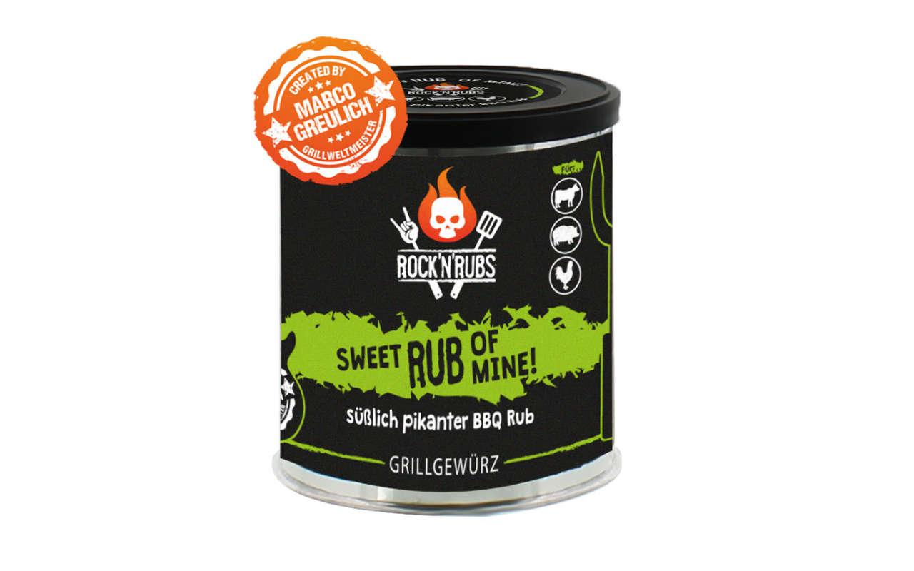 Rock 'n' Rubs - Sweet Rub of Mine