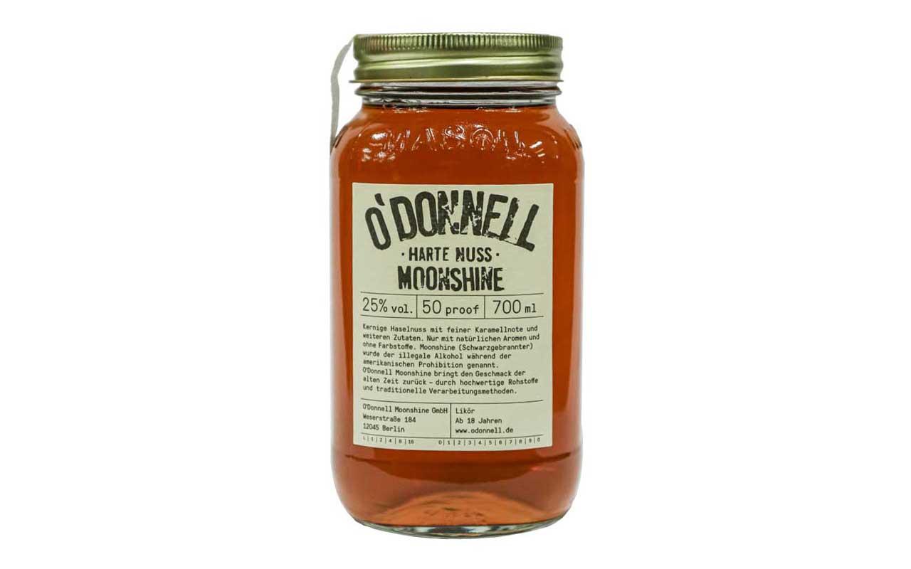 O'DONNELL MOONSHINE Harte Nuss (25% vol.) 700 ml