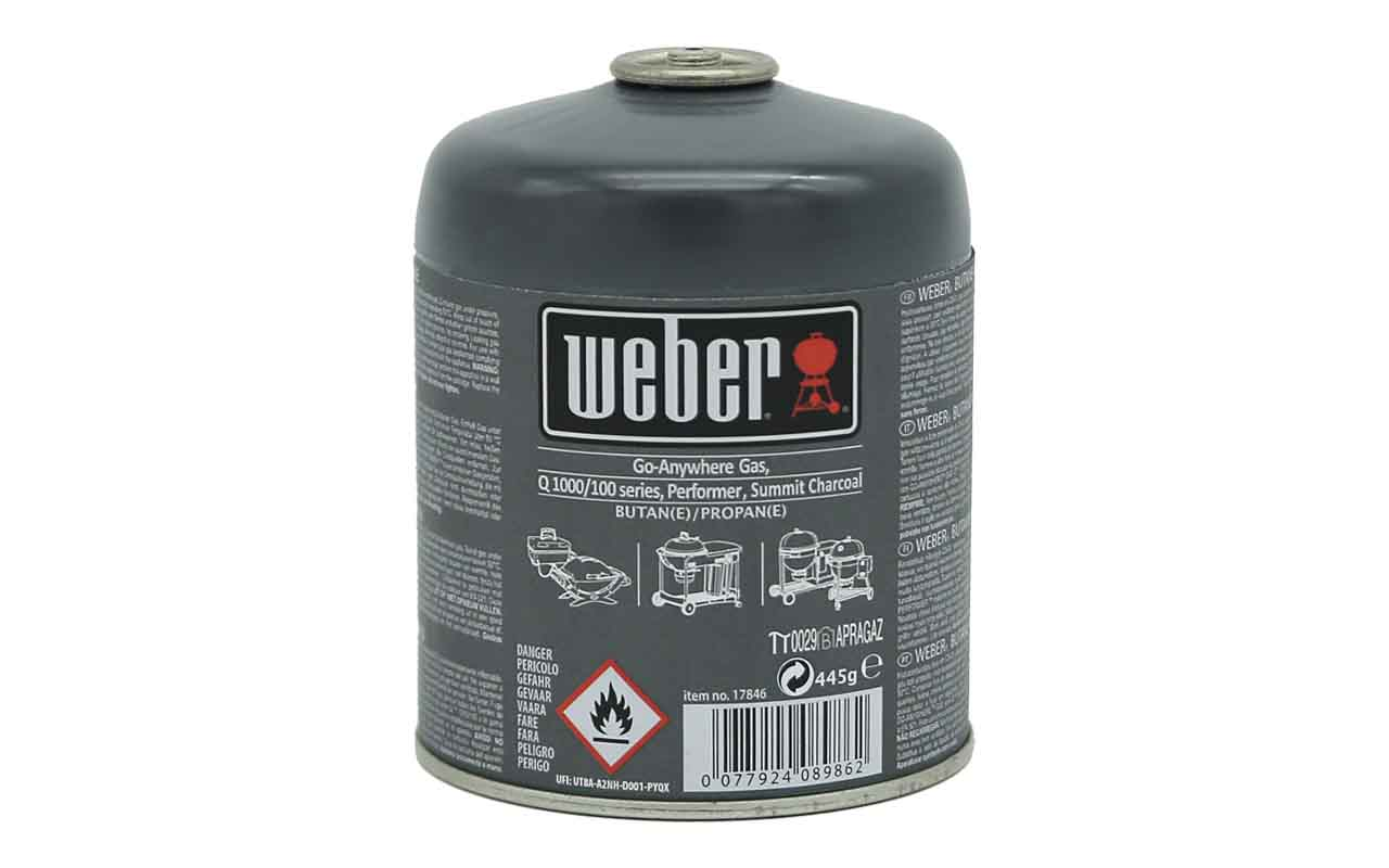 Weber Gas-Kartusche - 445 g Art.-Nr.: 17846