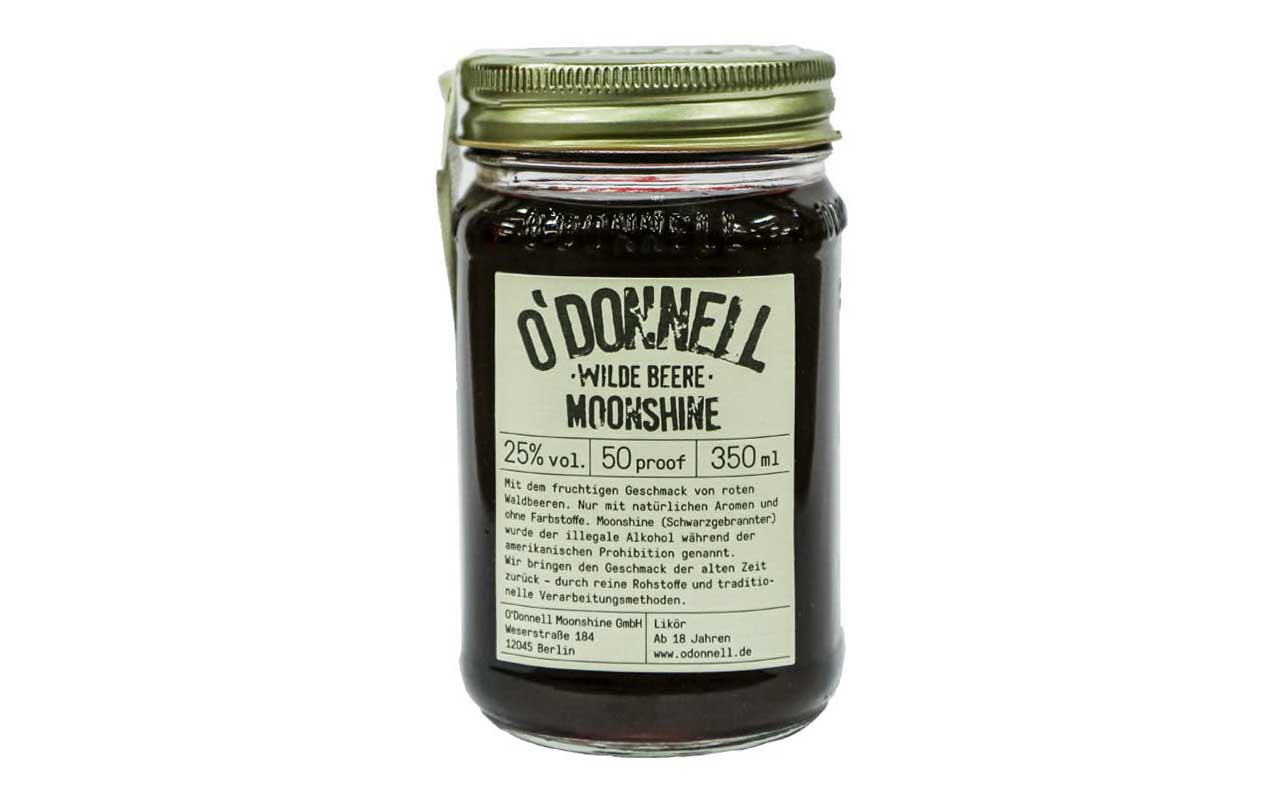 O'DONNELL MOONSHINE Wilde Beere (25% vol.) 350 ml