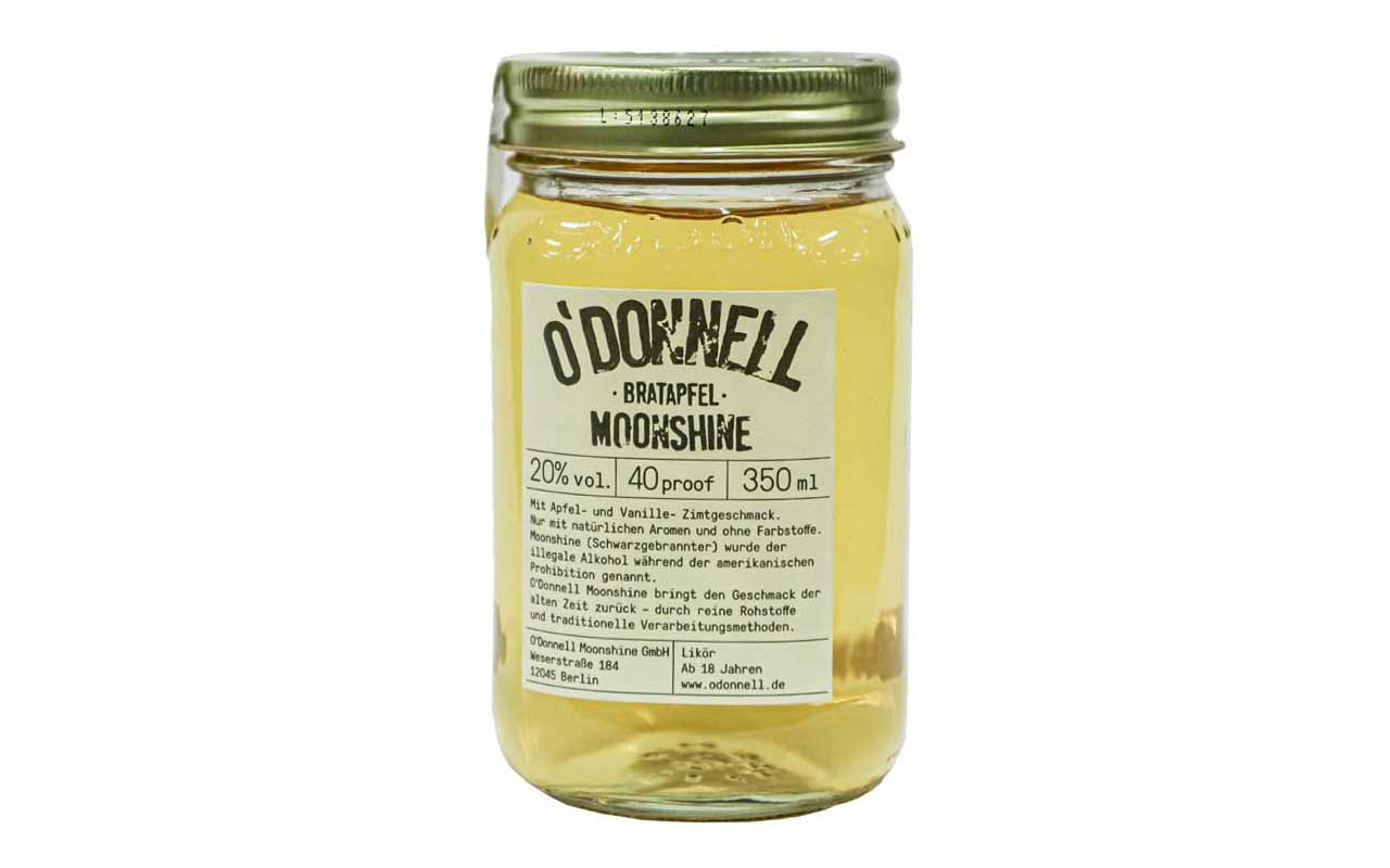 O'DONNELL MOONSHINE Bratapfel (20% vol.) 350 ml