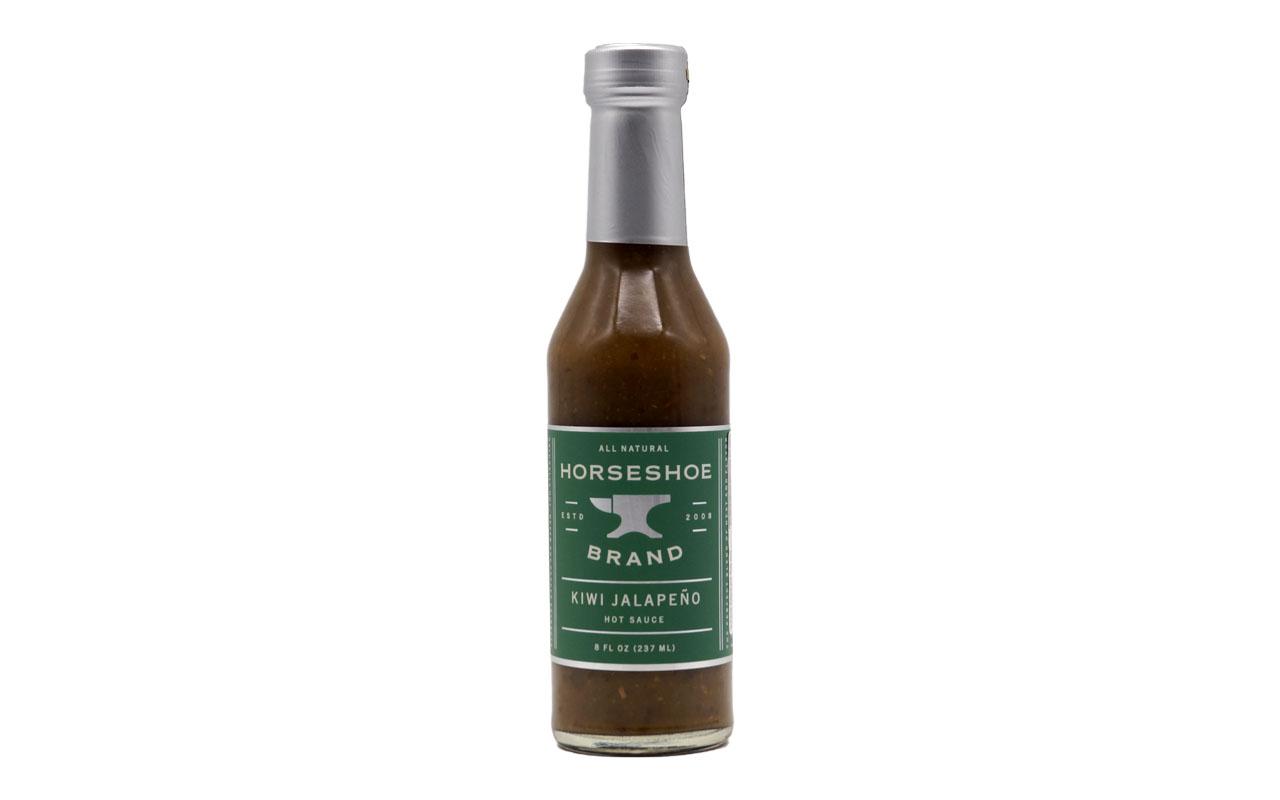 Horseshoe Brand - Kiwi Jalapeno Hot Sauce Natural - 237ml