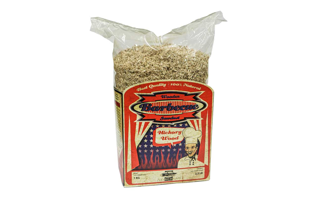 Axtschlag - Hickory Wood - Barbecue Wooden Sawdust - 1kg