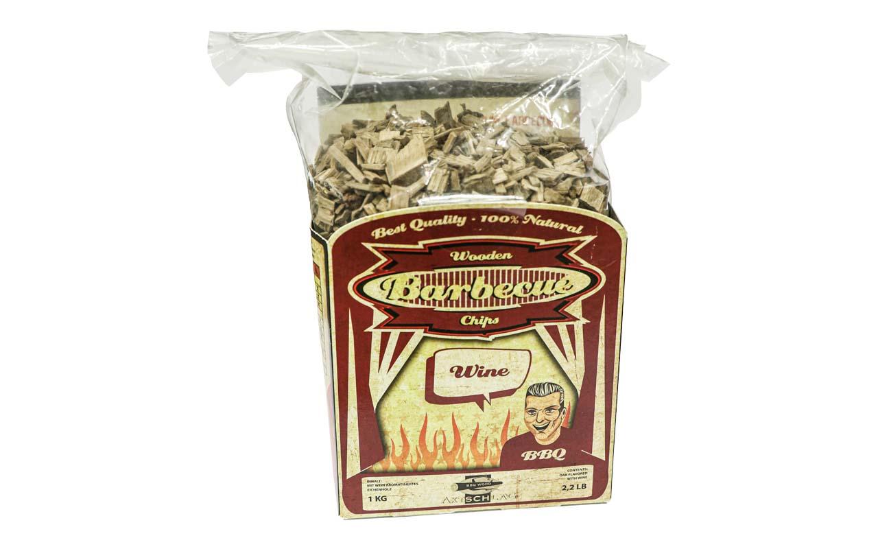 Axtschlag - Wein - Barbecue Wooden Chips - 1kg