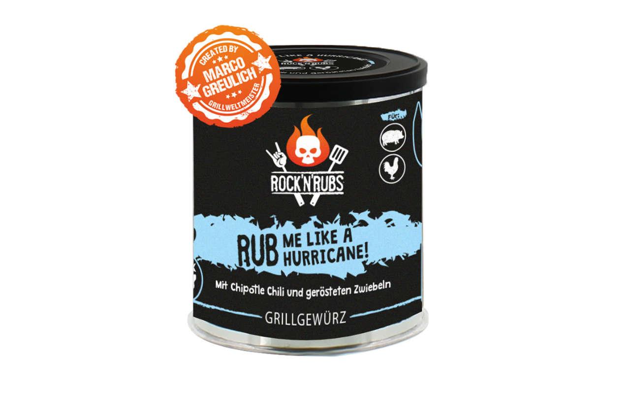 Rock 'n' Rubs - Rub me like a Hurricane