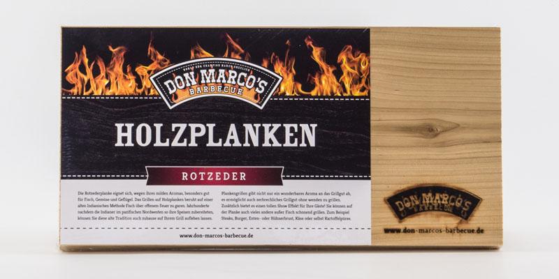 Don Marco's Holzplanke Rote Zeder