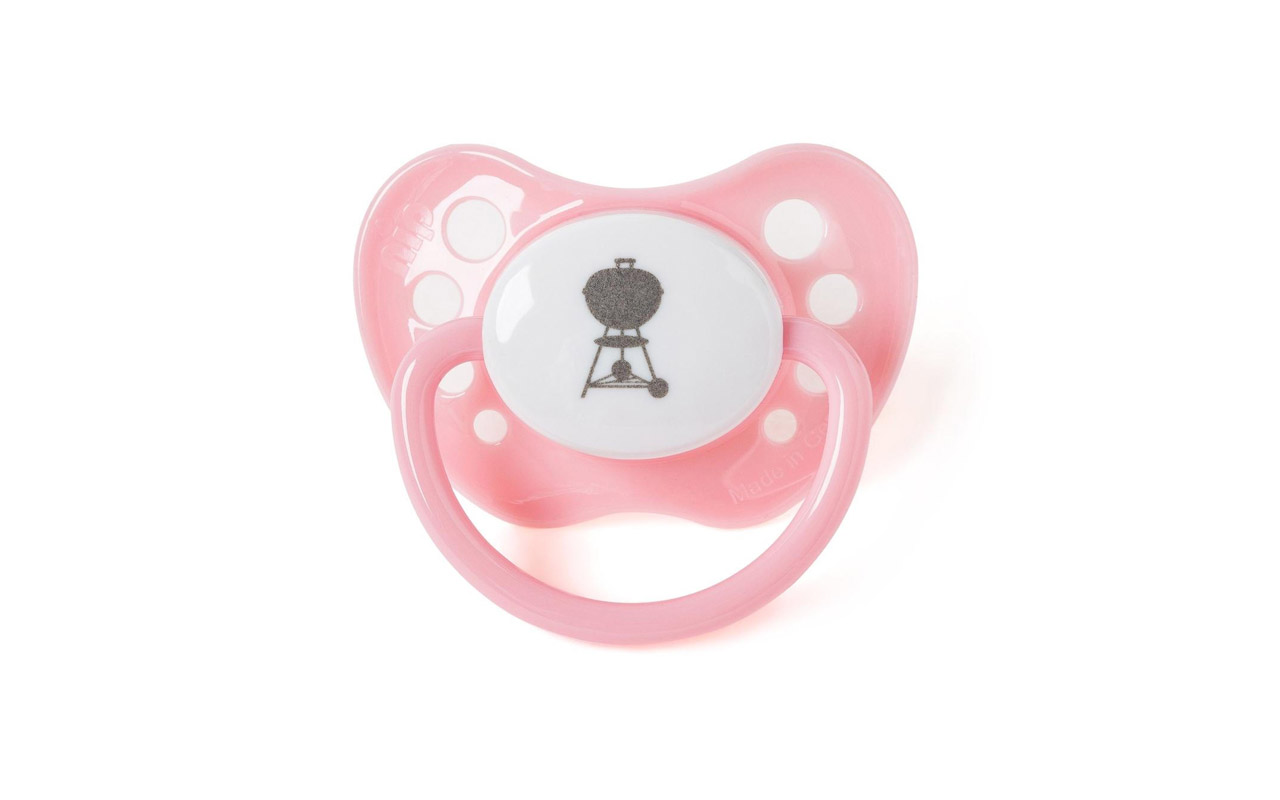 Weber - Baby-Schnuller Pink - Art.-Nr.:  34314