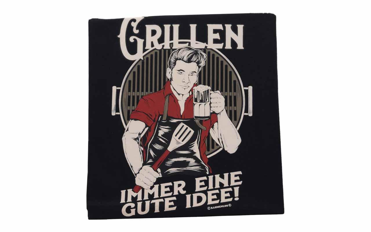 Rahmenlos - T-Shirt - Grillen - Immer Eine Gute Idee