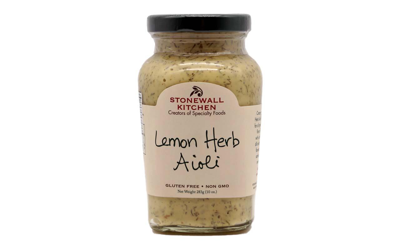 Stonewall - Kitchen Lemon Herb Aioli - 283 g