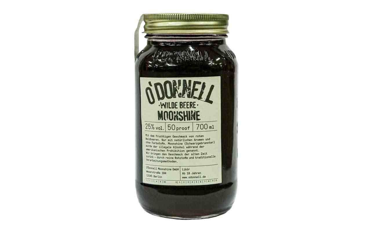 O'DONNELL MOONSHINE Wilde Beere (25% vol.) 700 ml